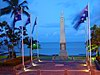Esplanade War Memorial By Night